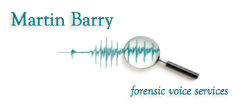 Martin Barry Forensic Voice Services